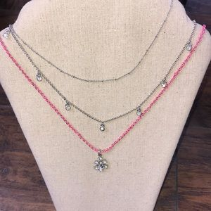 Ann Taylor Jewelry - 3 in 1 layered necklace